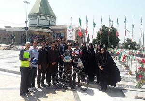 رهایی از بند اعتیاد،آغازی برای ایرانگردی با دوچرخه