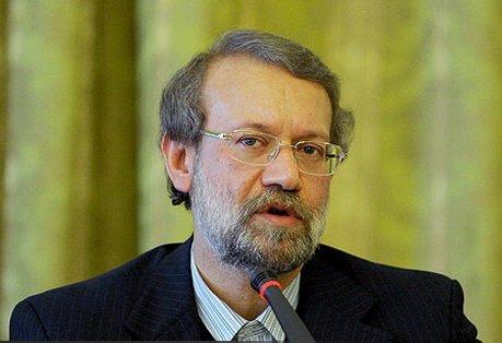 علی لاریجانی، در مراسم گرامیداشت شهدای هفتم تیر سخنرانی میکند