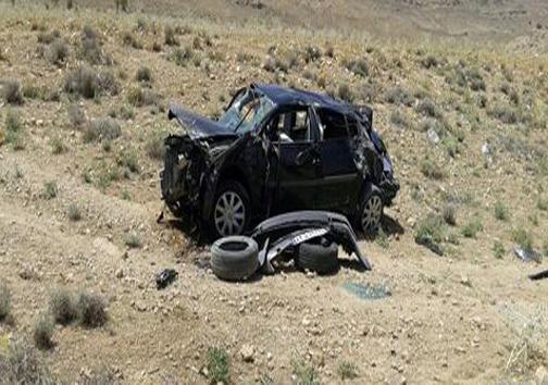 یک کشته در واژگونی مگان در محور شیراز-خرامه + تصاویر