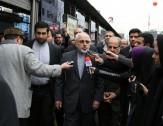 باشگاه خبرنگاران -ظریف به جمع راهپیمایان روز قدس پیوست