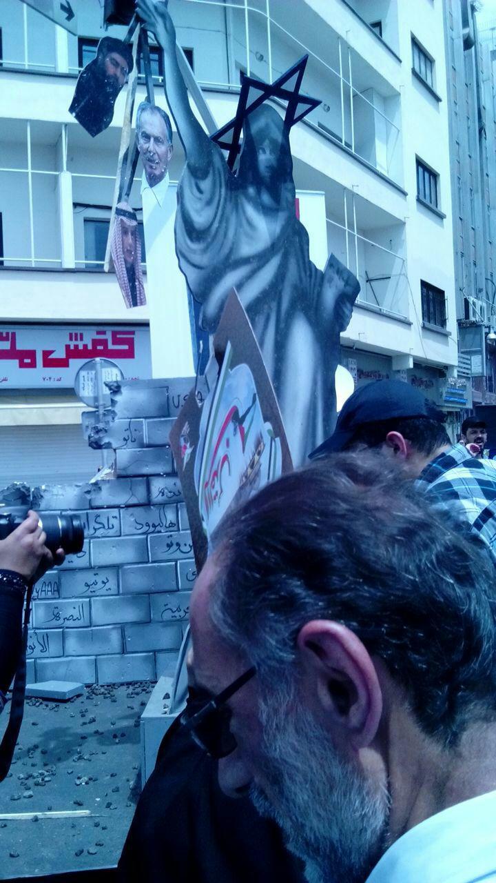 سلفی عزرائیل با نتانیاهو در روز قدس/همدلی مردم با سردار مقاومت/اسرائیل در تب 41 درجه میسوزد + تصاویر