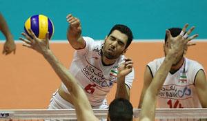 دیدار دو تیم ایران و صربستان آغاز شد