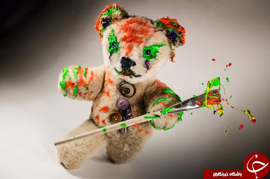 عکسهایی ترسناک از عروسکهای خرسی