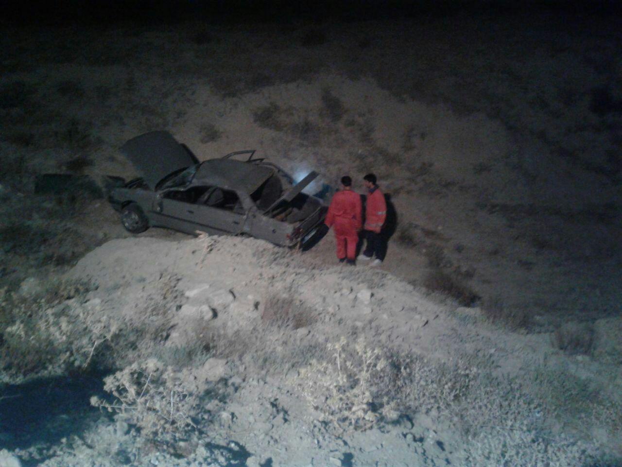 سقوط خودروی پژو آردی به دره