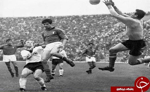 مسابقه تاریخی آلمان و ایتالیا در 54 سال قبل با حضور بوفون+عکس