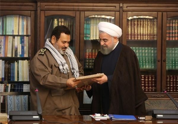 رئیس جمهور از خدمات سرلشکر فیروزآبادی تقدیر کرد