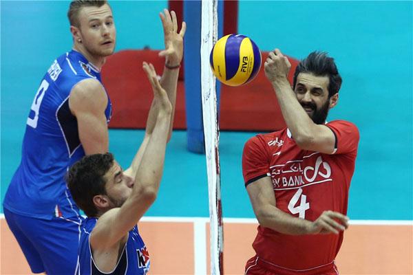 ایران صفر - ایتالیا یک/ ست اول به آبیپوشان رسید