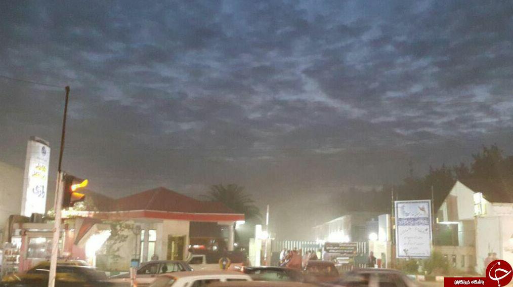 آتش سوزی در بیمارستان رازی رشت+تصویر