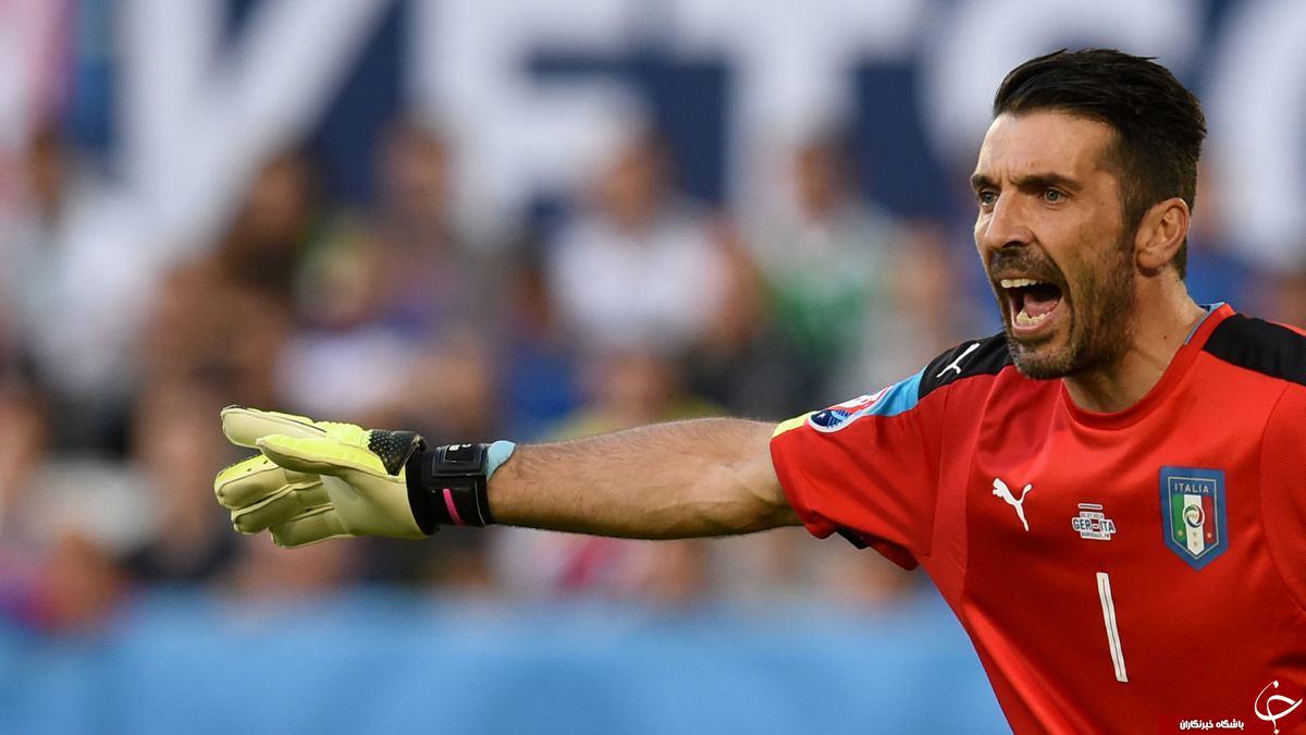 آلمان 0 - ایتالیا 0 + گزارش تصویری