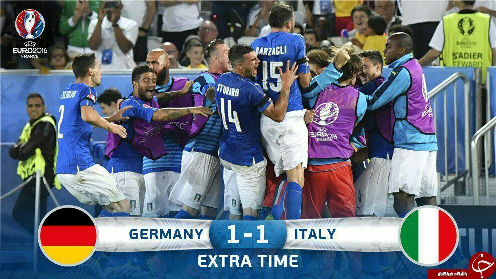 آلمان 1 - ایتالیا 1 + گزارش تصویری