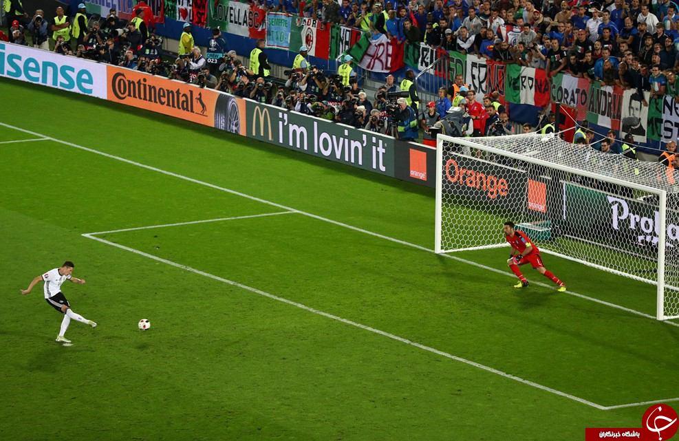 آلمان 1(6) - ایتالیا 1 (5)+ گزارش تصویری