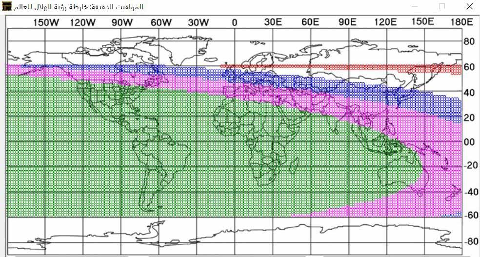 کشورهای جهان چه روزی عید فطر را جشن میگیرند؟+ نمودار