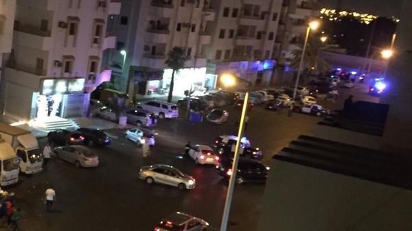 انفجار انتحاری در مقابل کنسولگری آمریکا در شهر جده عربستان
