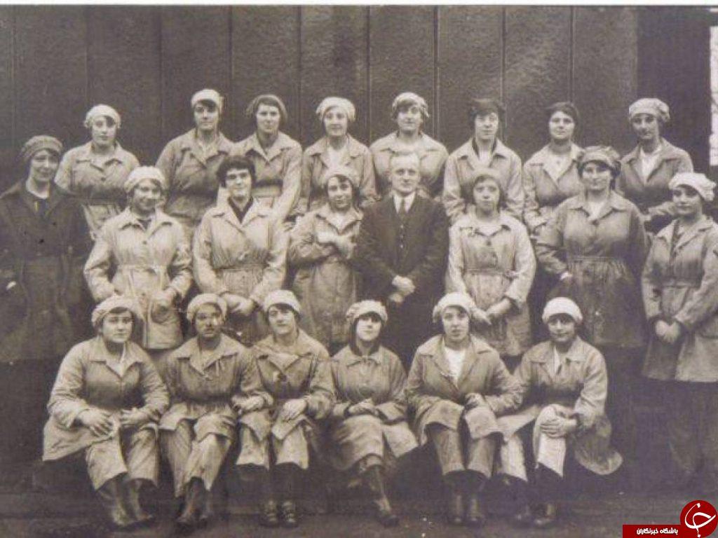 زنان قناری؛ زنانی بیش از ۸۰ درصد صلاح های جنگ جهانی اول را ساختند + تصاویر