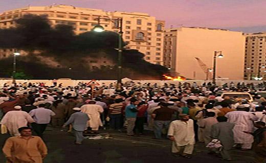 انفجار انتحاری در نزدیکی مسجد النبی در مدینه منوره