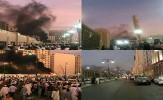 انفجار انتحاری در نزدیکی مسجد النبی در مدینه منوره + فیلم و تصاویر