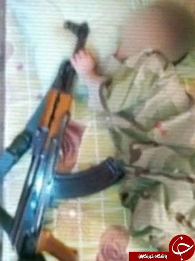 کشته شدن کودک داعشی در حین بازی با نارنجک+ تصاویر