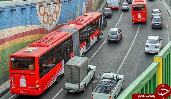 شرکت واحد اتوبوسرانی تهران از دیروز تا امروز + تصاویر