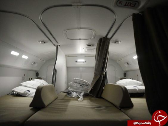 مخفی ترین مکان در هواپیما اینجاست + تصاویر