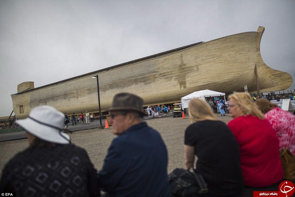 رونمایی از کشتی حضرت نوح در شهر کنتاکی آمریکا  + تصاویر