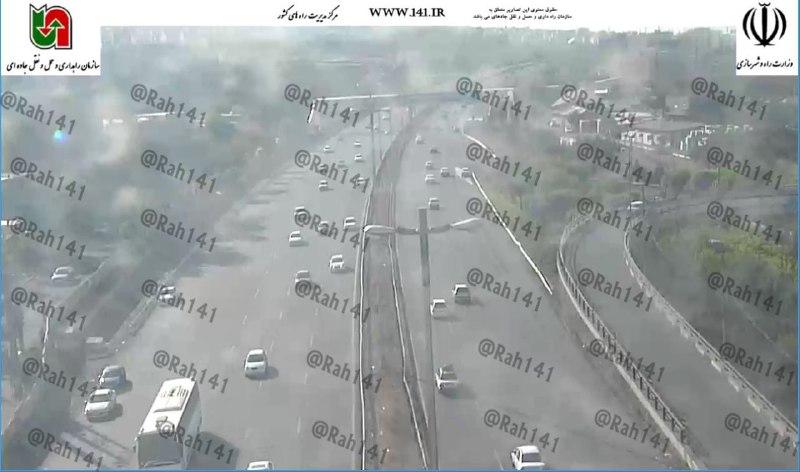ترافیک سنگین در محور قزوین-رشت/مه گرفتگی در جادههای مازندران و گیلان+تصاویر