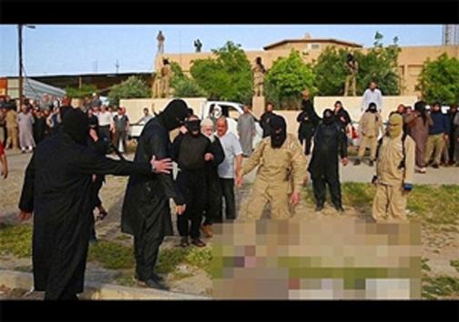 داعش 7 عضو فراری خود را با دیگ آب جوش اعدام کرد