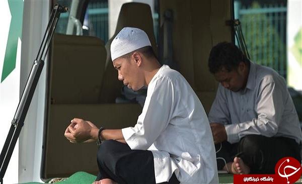 مسجد سیار در اندونزی + تصاویر