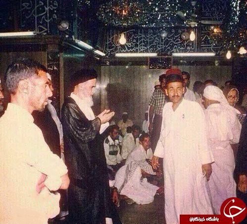 عکس دیده نشده از امام خمینی(ره) در نجف