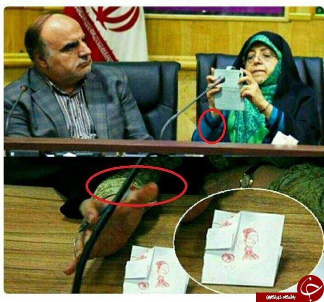واکنش تند ابتکار به فتوشاپ ناشیانه یک خبرگزاری + عکس و توییت