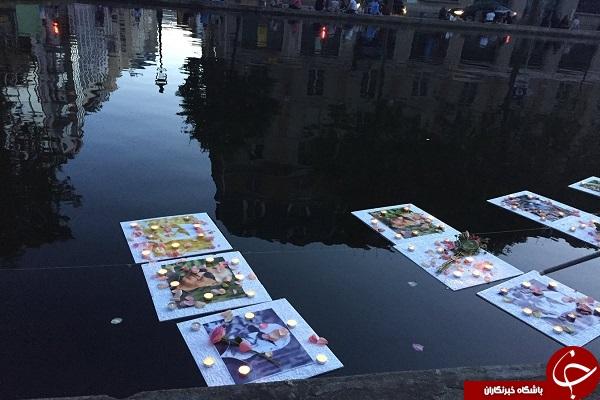 پاریس به یاد کیارستمی + تصاویر