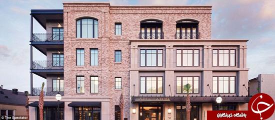 تصاویری از یکی از برترین هتلهای جهان