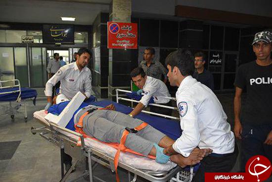 سقوط مرگبار اتوبوس به دره در محور نیریز/سرهنگ حمیدی:آمار قربانیان35 کشته و زخمی است+تصاویر