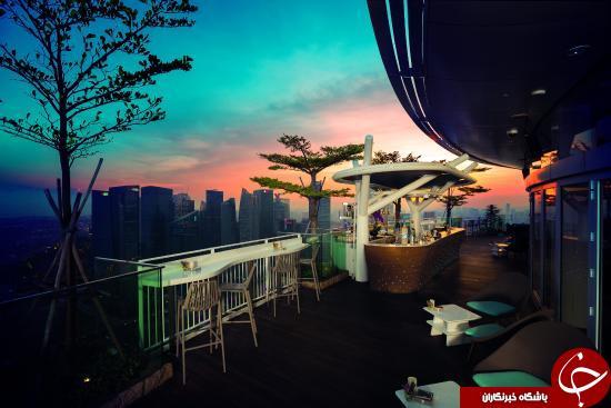 زیباترین و مجلل ترین رستوران های مرتفع جهان+ تصاویر