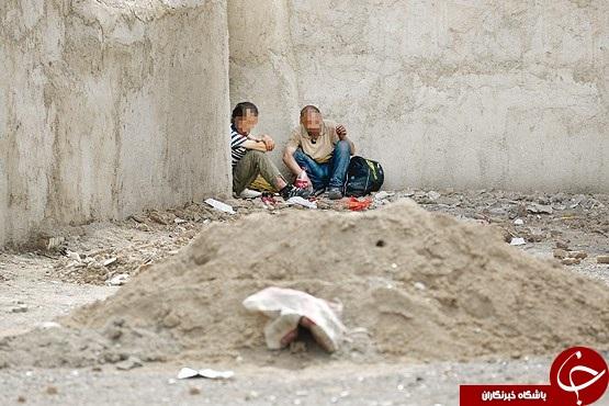 فقر و سرنگ و آتش؛ مثلث محله هرندی/ کودکانی که از سوءتغذیه در پایتخت جان می بازند