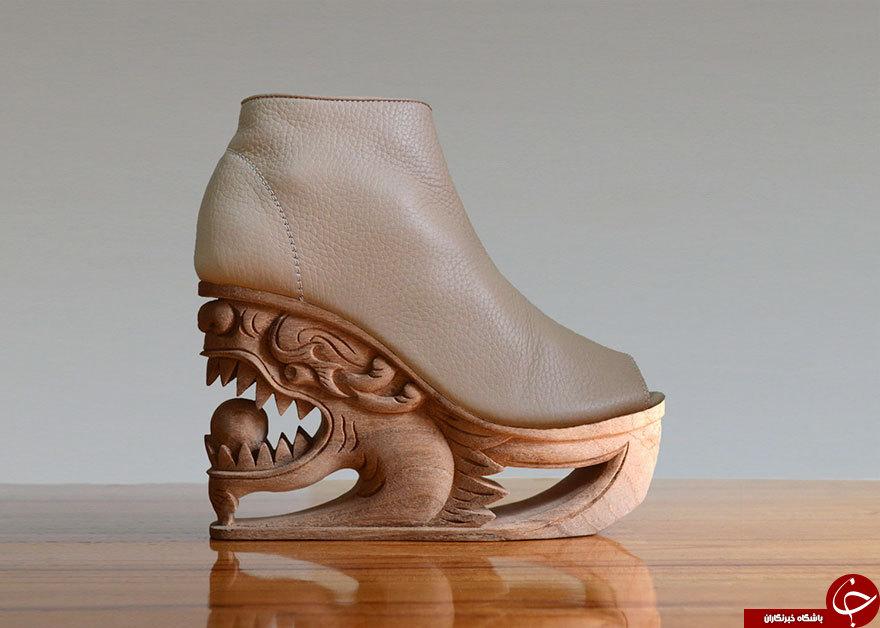 هنر قدیمی چوب و چرم در کفشهای ویتنامی +تصاویر