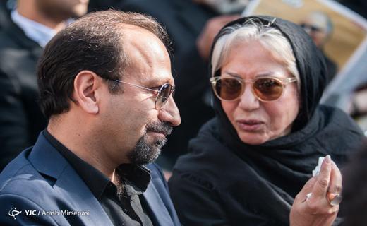 عباس کیارستمی به «خانه دوست» بدرقه شد و در لواسان آرام گرفت + فیلم و تصاویر