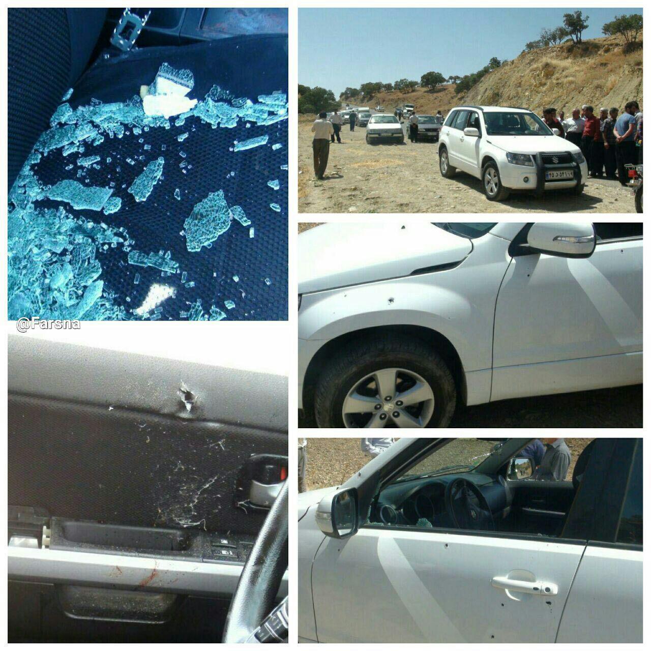 فلاحت پیشه: دو جوان شهید، فرماندار و مدیرکل شیلات مجروح شدند+ فیلم و عکس