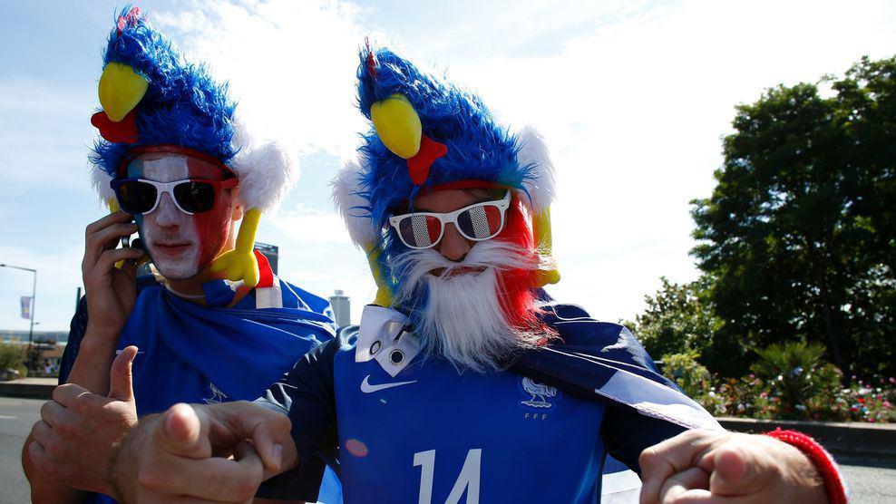 دیدار فینال یورو 2016 به روایت تصویر + حاشیه ها