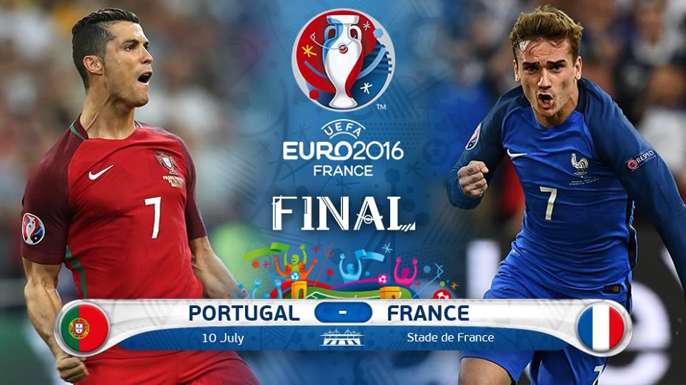 فرانسه 0 - پرتغال 0 / رونالدو مصدوم شد