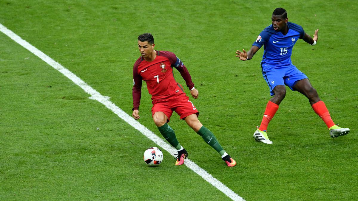 تساوی بدون گل فرانسه و پرتغال تا پایان نیمه نخست/ رونالدو فینال یورو را از دست داد + فیلم و گزارش تصویری