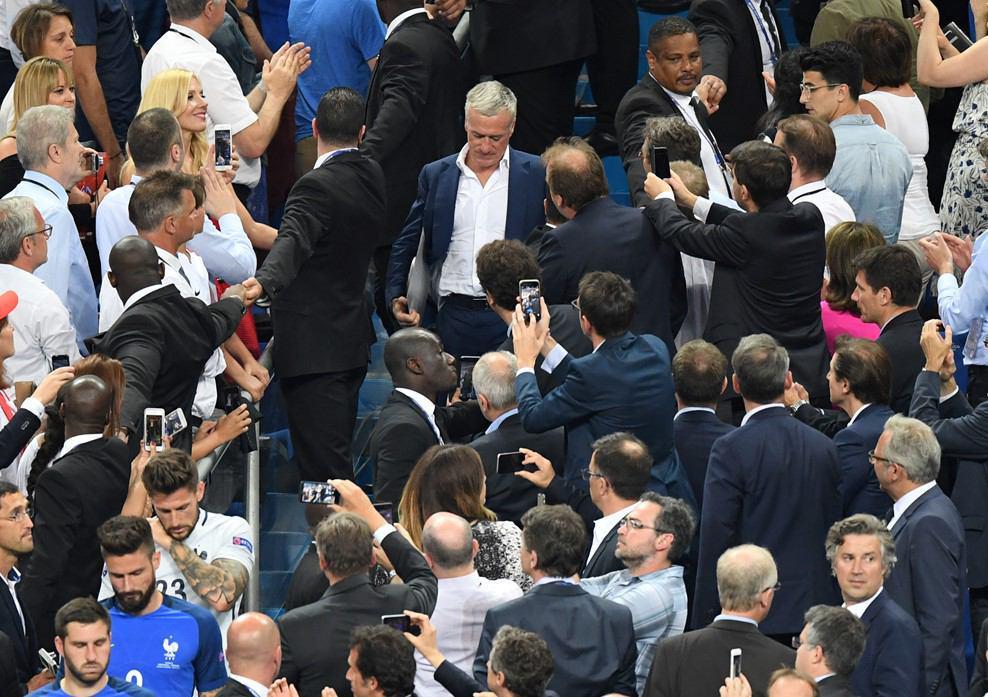 جشن قهرمانی پرتغالدر یورو 2016 + تصاویر