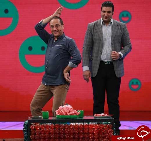 علیخانی به قولش در «خندوانه» عمل کرد/ حضور مربی علی ضیا، حامد بهداد و پوریا پورسرخ در برنامه + فیلم