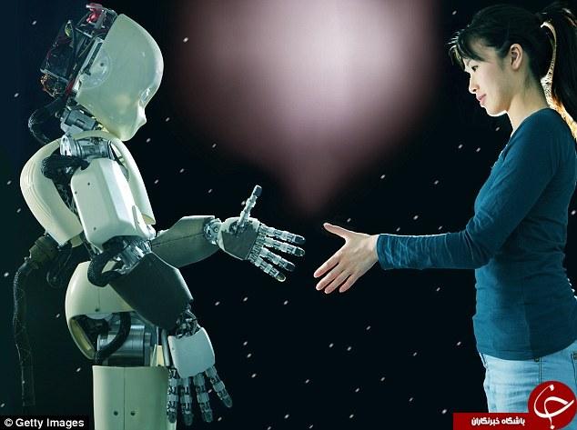 تولید انسان هایی از جنس ربات + تصاویر
