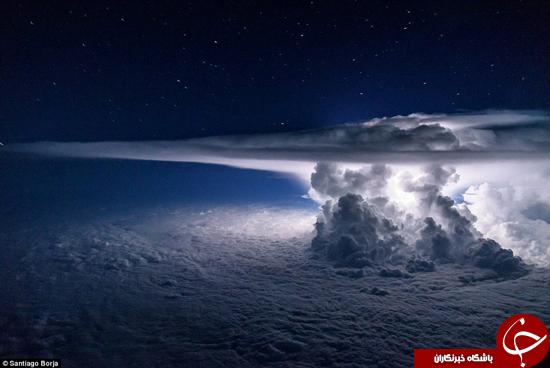 زیباترین تصویر از طوفان در اقیانوس آرام