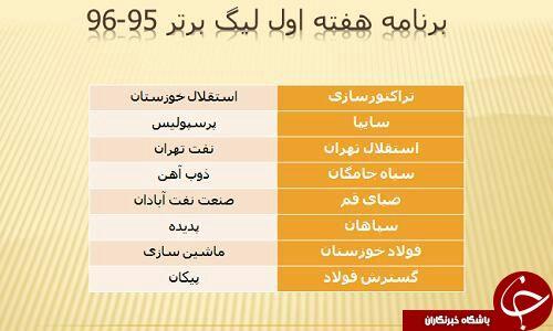 دربی هفته ششم برگزار می شود/تقابل منصوریان با نفتی ها در هفته اول+گزارش تصویری ، مصاحبه و فیلم
