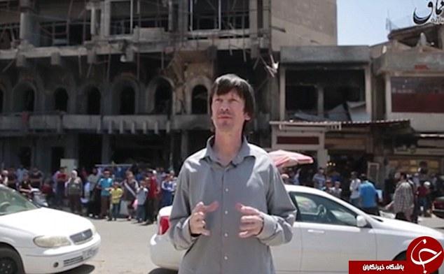 دیلی میل: خبرنگار انگلیسیِ گروگان داعش لاغر و رنگ پریده شده است!+ تصاویر و فیلم