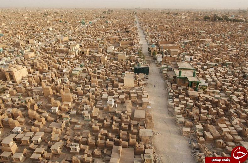 بزرگترین قبرستان مخوف جهان در عراق، پناهگاه قربانیان داعشی های فاسد+ تصاویر