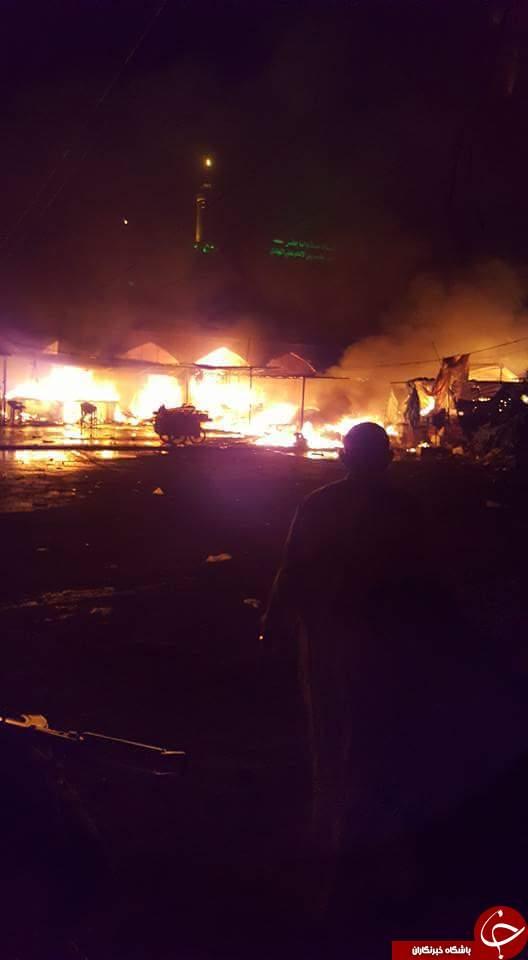 فداکاری شهروند عراقی در حمله تروریستی اخیر داعش به امامزاده سید محمد (ع)