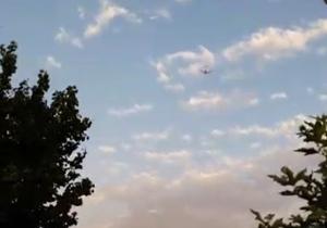 شکار لحظه آتش گرفتن موتور هواپیمای زاگرس توسط شهروندخبرنگار + فیلم
