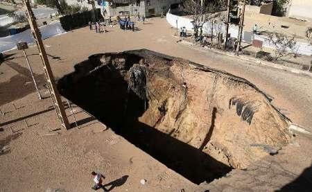 باز هم حادثه در شهران حادثه ساز شد/ محل انفجار ریزش کرد؟